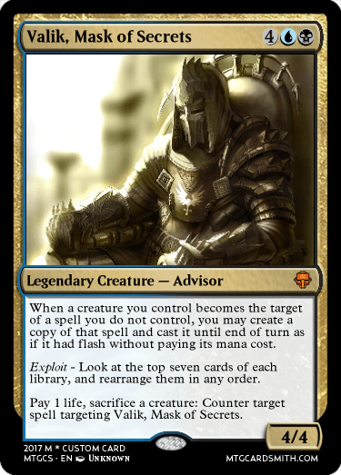 Valik, Mask of Secrets