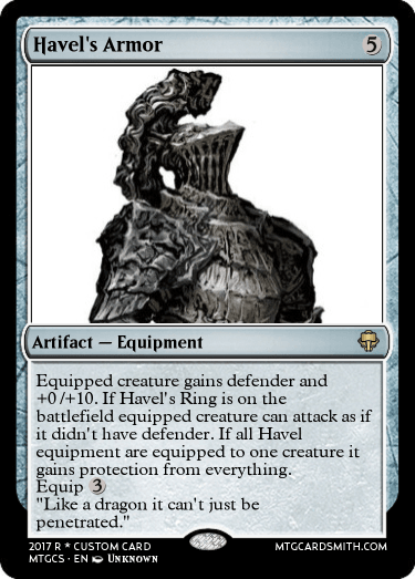 havel s armor by oniausfall mtg cardsmith