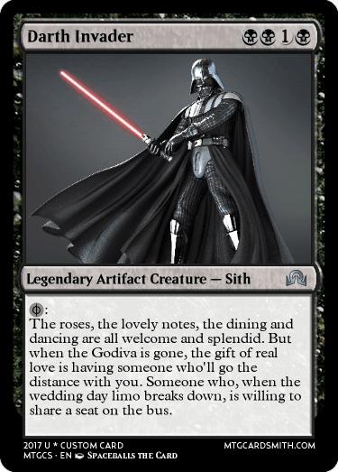 The darth invader