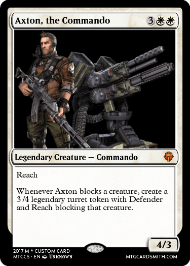 Axton Turret