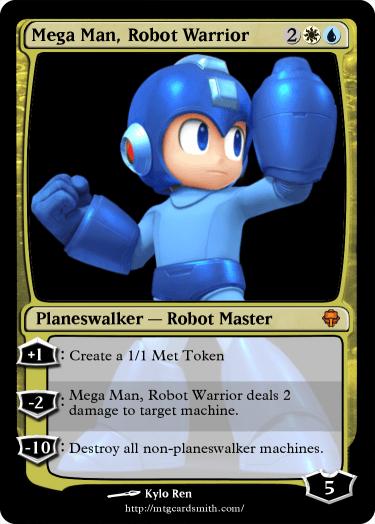 Mega Man, Robot Warrior by Kyloren12 | MTG Cardsmith