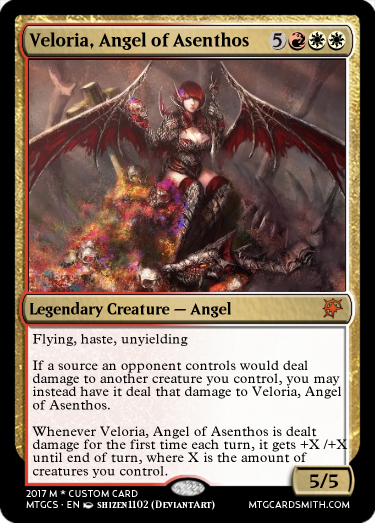 Veloria, Angel of Asenthos