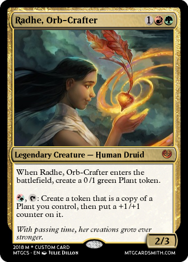 Radhe, Orb-Crafter