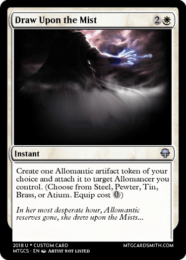 Draw Upon The Mist By Mistborn314 Mtg Cardsmith