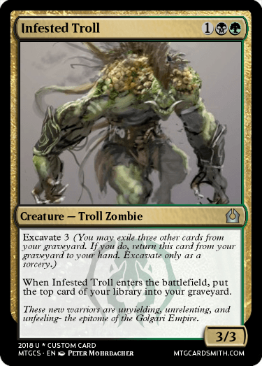 Infested Troll