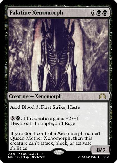 Palatine Xenomorph by Eagleclaw250 | MTG Cardsmith