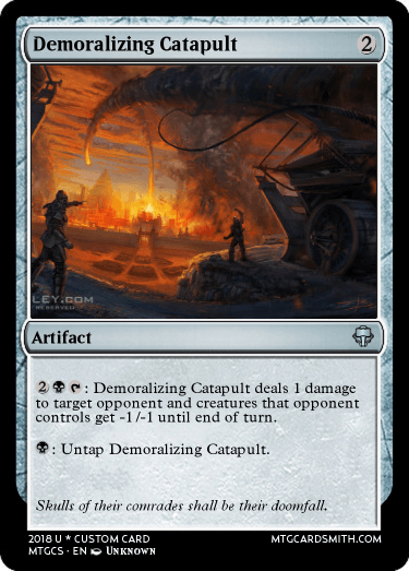 Demoralizing Catapult