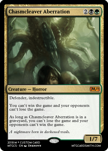 Chasmcleaver Aberration