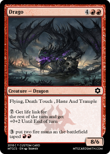 Drago by fortnite | MTG Cardsmith