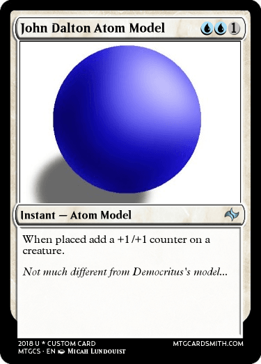 john dalton atom model