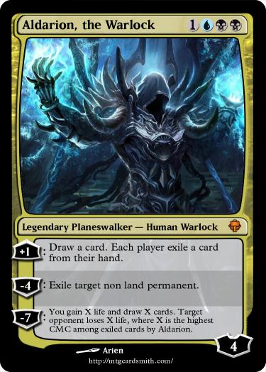 Aldarion The Warlock By Neutrar Mtg Cardsmith