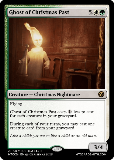 Ghost Of Christmas Past By Joyous1985 Mtg Cardsmith