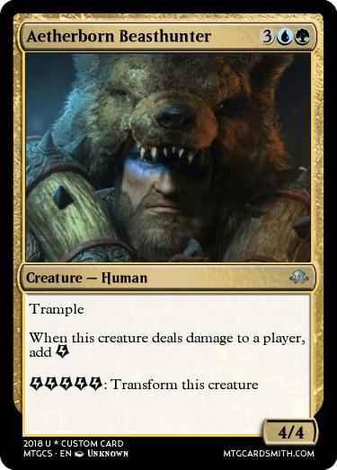 Aetherborn Beasthunter
