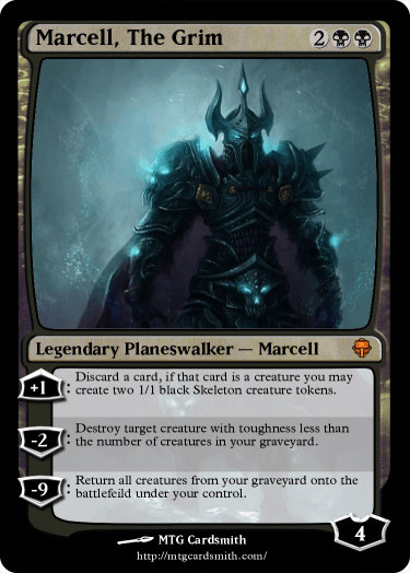 Marcell, The Grim