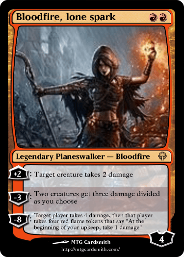 Bloodfire, lone spark