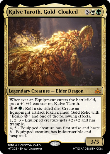 Kulve Taroth, Gold-Cloaked by KodierungKrieger | MTG Cardsmith