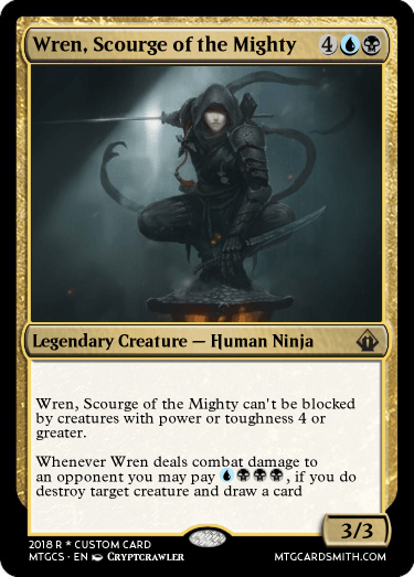 Wren, Scourge of the Mighty