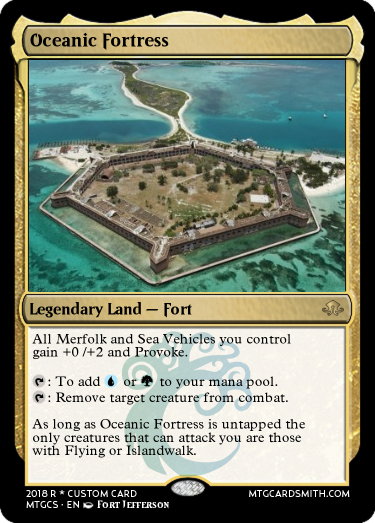 Oceanic Fortress