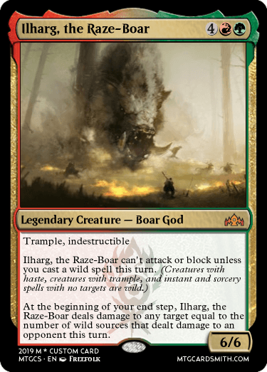Ilharg, the Raze-Boar