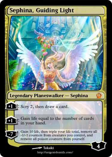 Sephina, Guiding Light