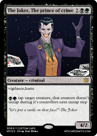 The Joker, The prince of crime