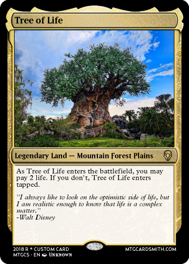 Tree of Life by LordFaron269 | MTG Cardsmith