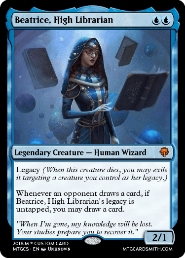 Beatrice, High Librarian