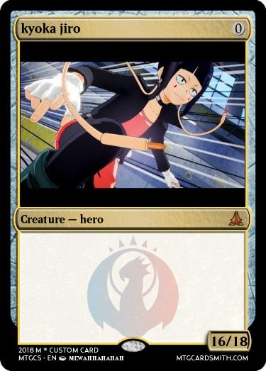 Kyoka Jiro By Enykrypted Mtg Cardsmith