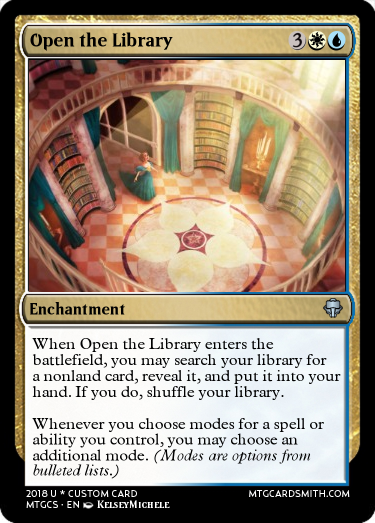 Open the Library