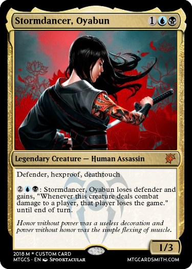 Stormdancer, Oyabun