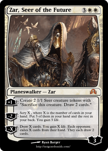 Zar Seer Of The Future By Sushicarp123 Mtg Cardsmith