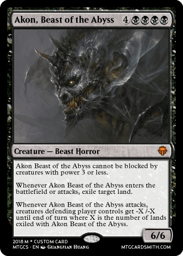 Akon, Beast of the Abyss