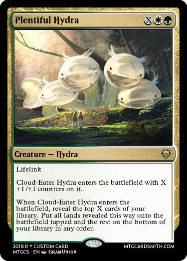 Plentiful Hydra