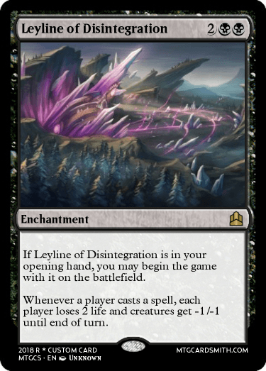 Leyline of Disintegration