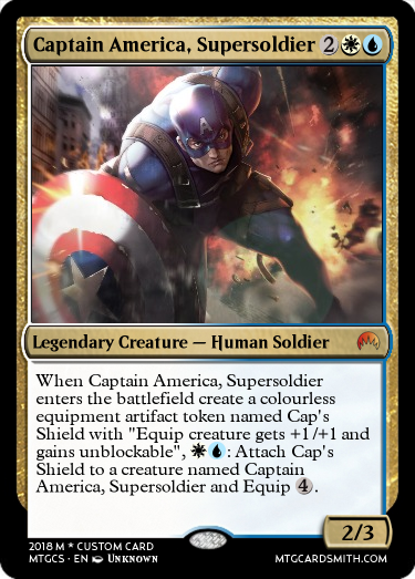 Captain America, Supersoldier