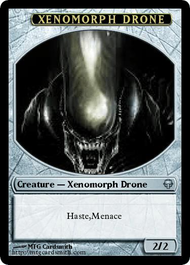 Xenomorph Drone by ROBOT234 | MTG Cardsmith