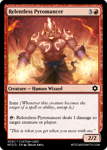 Relentless Pyromancer