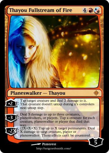 Thayou Fullstream of Fire by The_Avi | MTG Cardsmith