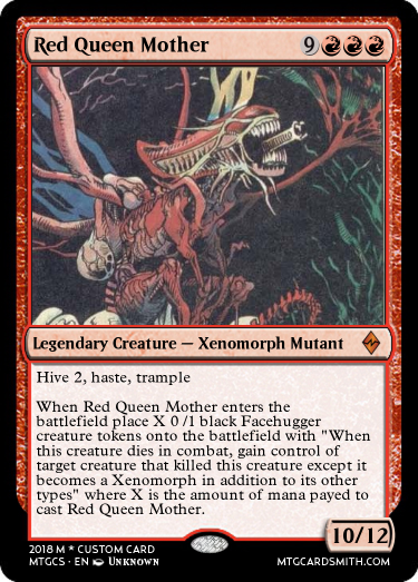Red Queen Mother by blep_ | MTG Cardsmith