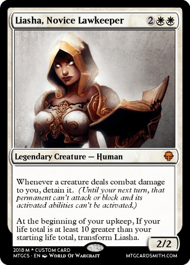 Liasha, Novice Lawkeeper