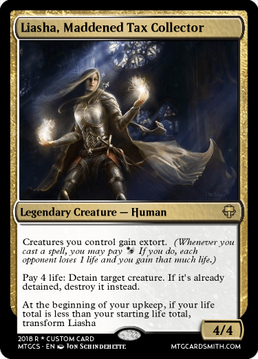 Liasha, Maddened Tax Collector