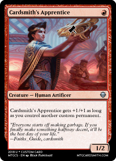 Cardsmith's Apprentice