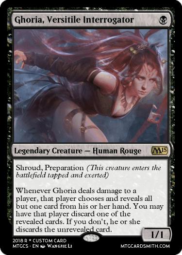 Ghoria, Versitile Interrogator