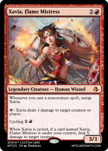 Xavia, Flame Mistress