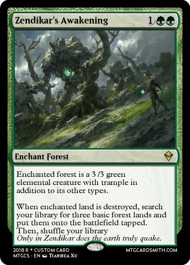Zendikar's Awakening