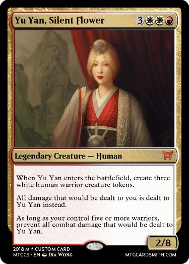 Yu Yan, Silent Flower