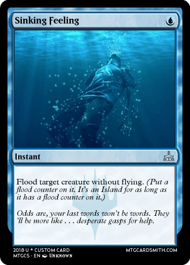 Sinking Feeling