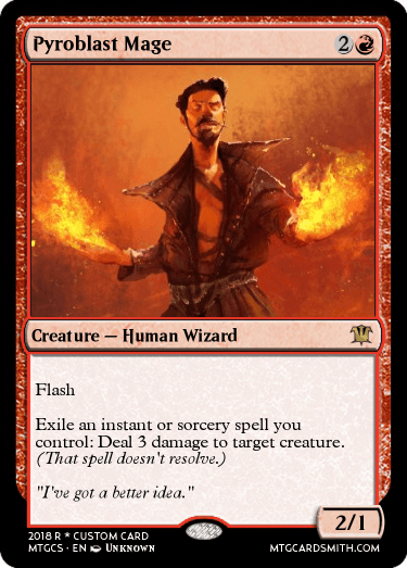 Pyroblast Mage