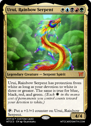 Urui, Rainbow Serpent