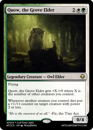Quow, the Grove Elder